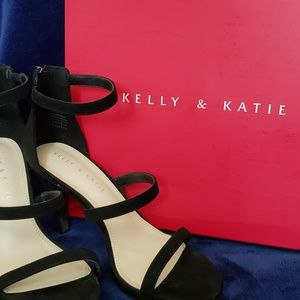 Kelly & Katie strappy heels